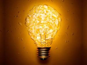 Light Bulb Pieces