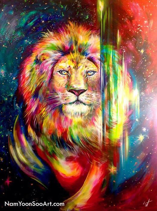 lion-by-yoonsoo-nam