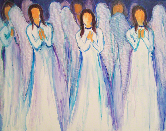 Angel-Choir via Quillin-Stephens Gallery