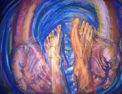 Foot Washing by Fr. Bob Gilroy, SJ