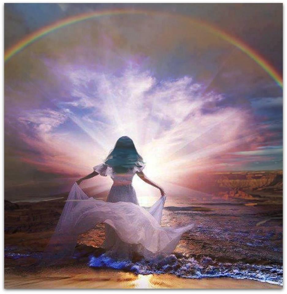 Rainbow Water Bride