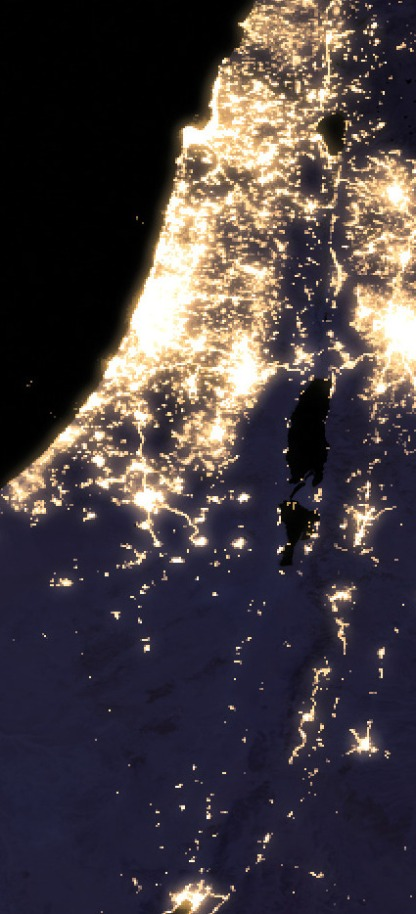 Israel_at_night